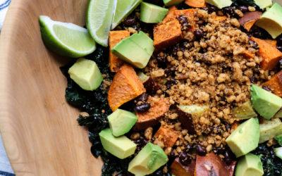 Vegan Mexican Sweet Potato Bowl
