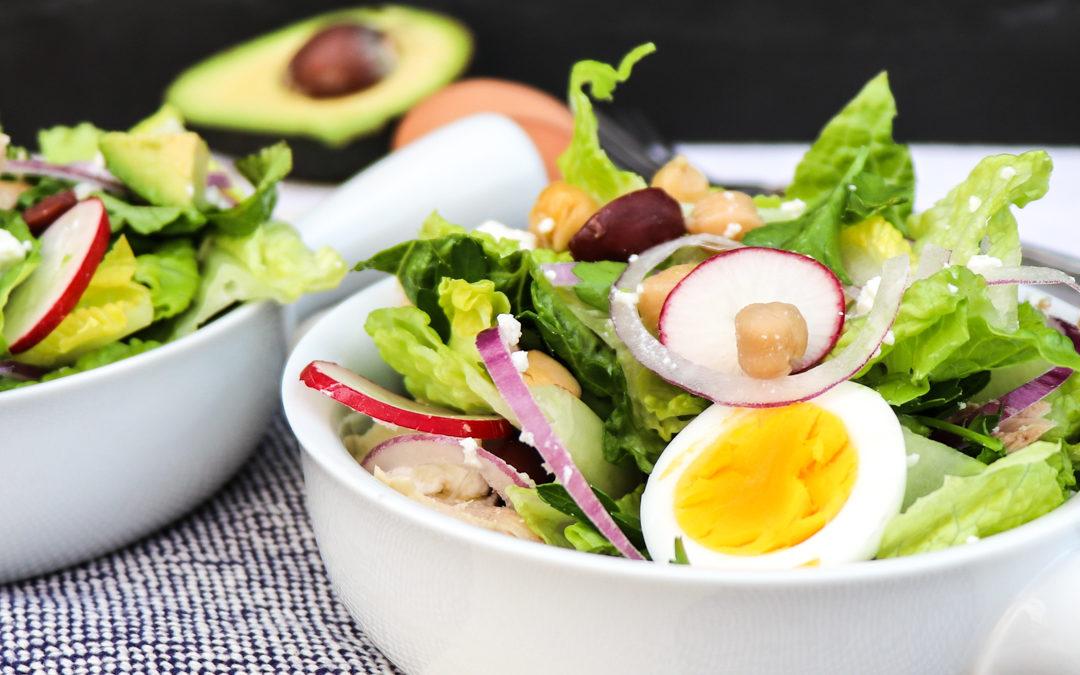 Chopped Italian Tuna Salad