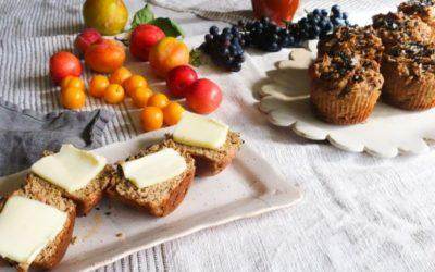 Banana and Tahini Muffins (Grain-Free!)