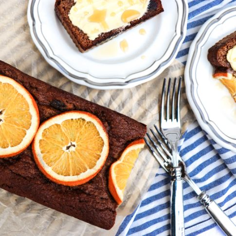 Grain-Free Orange Date Bread
