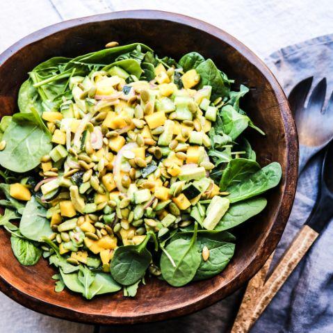 Maui Inspired Tropical Salad