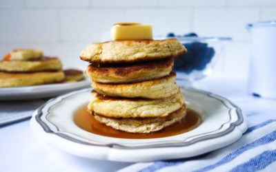 Secret Ingredient Almond Flour Pancakes