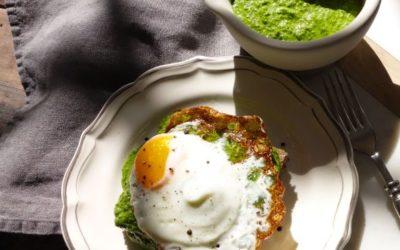 Spinach and Tahini Pesto