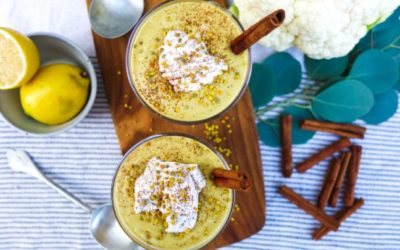 Turmeric and Chai Spiced Cauliflower Smoothie
